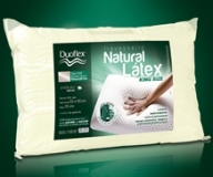 TRAVESSEIRO LATEX NATURAL KING SIZE. - DUOFLEX